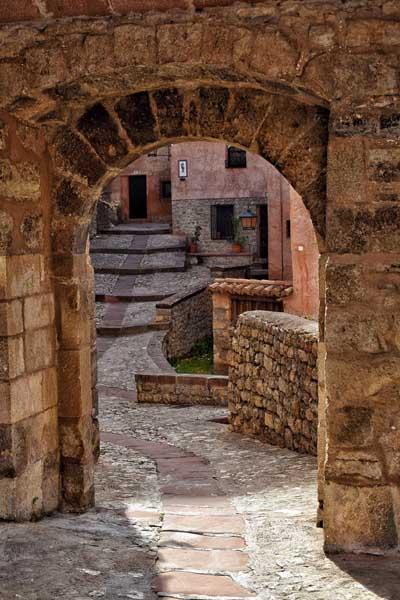 Portal de Molina Albarracin - Lugares y sitios de encanto para ver en Albarracín - Ilutravel.com