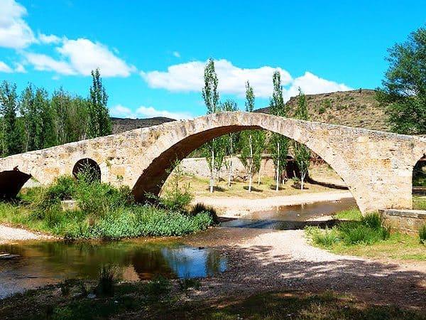 Puente Luco de Jiloca de Calamocha