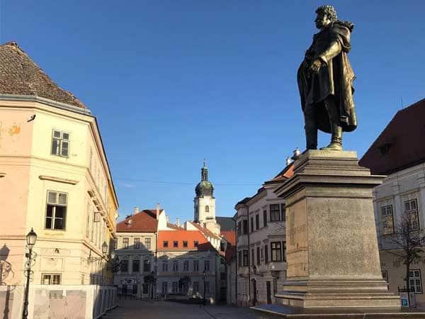 Bécsi Kapu Ter Puerta de Viena de Gyor - Lugares de interés que ver en Gyor - Ilutravel.com