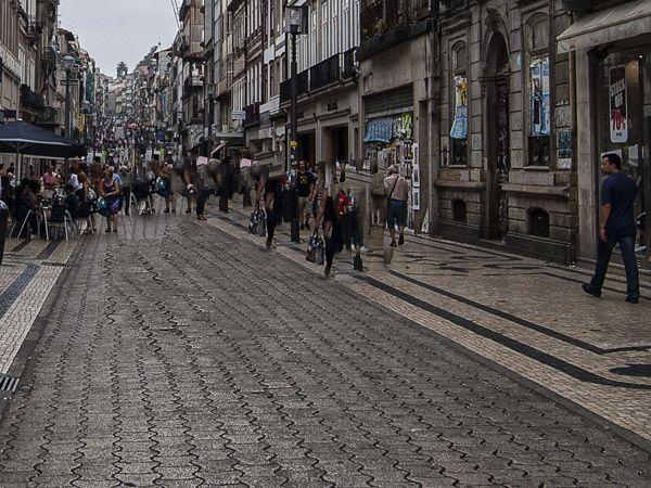 Rua Santa Catarina Oporto - Que ver en Oporto - Ilutravel.com