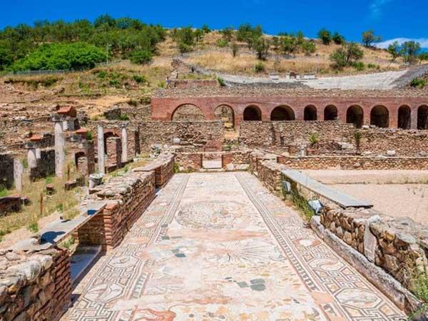 Ruinas de Heraclea Lyncestis de Macedonia - Turismo por Macedonia en varios días - Ilutravel.com