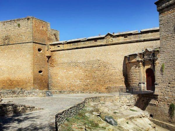 Castillo de Sabiote lugar que visitar