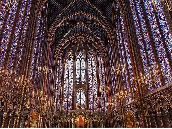 Saint Chapelle Paris - Visitar París ruta de turismo 3 días - Ilutravel.com
