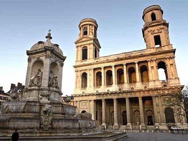 Saint Sulpice Paris - Visitar París 3 días - Ilutravel.com