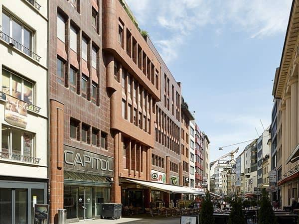 Steinenvorstadt de Basilea - Sitios que ver en Basilea un día - Ilutravel.com