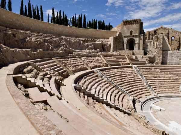 Teatro romano de Cartagena visitar ahora Cartagena - Ilutravel.com