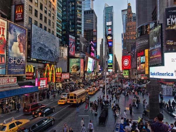 Times Square de Nueva York - Que visitar en Nueva York en 6 días - Ilutravel.com