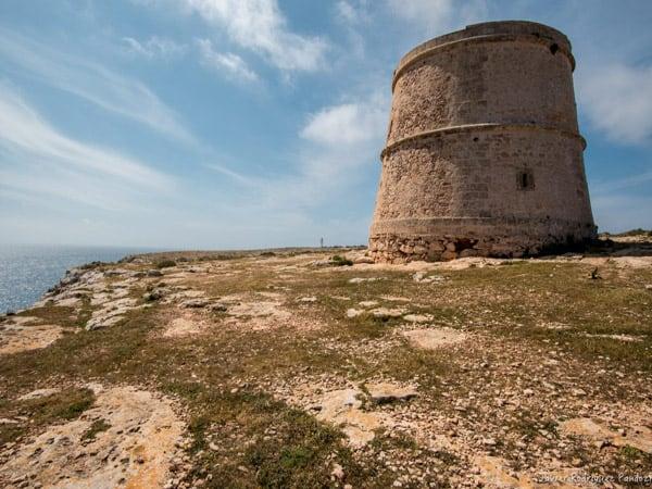 Torre des Garroveret de Formentera - Ver Formentera 5 días - Ilutravel.com