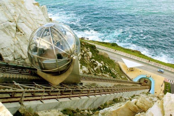 Ascensor Monte San Pedro Coruña - Sitios que visitar en a Coruña - Ilutravel.com