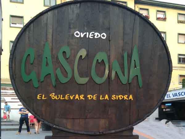 Calle Gascona - Ver Oviedo haciendo turismo para un día - Ilutravel.com