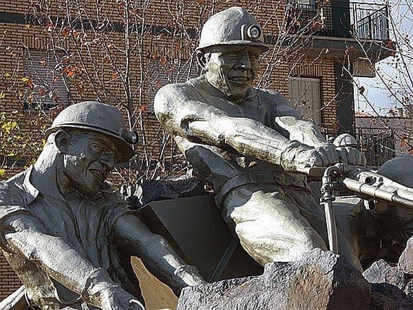 Mineros de Almadén Monumento a los mineros