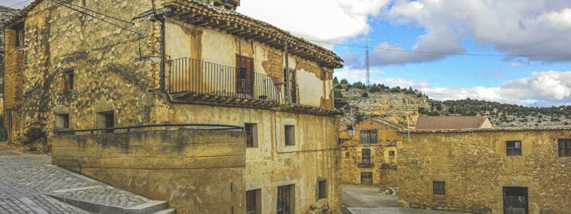 Foto superior de Castillejo de Robledo en Soria - Ilutravel.com