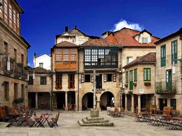 Plaza de Leña de Pontevedra - Lugares que ver en Pontevedra- Ilutravel.com